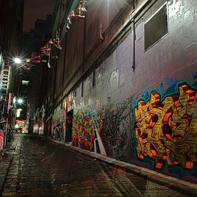 by Amanda Wilson - City,  Street & Park  Street Scenes
