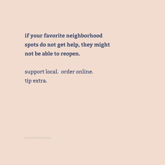 Favorite Neighborhood Spots - Instagram Post Template