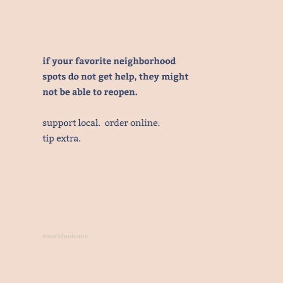 Favorite Neighborhood Spots - Instagram Post Template