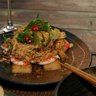 Aunty 5'S Rice Cakes with Pork and Tiger Prawn Recipe