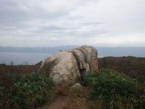カモシカ台は岩が多い