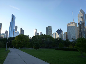 Photo: View from Millennium Park