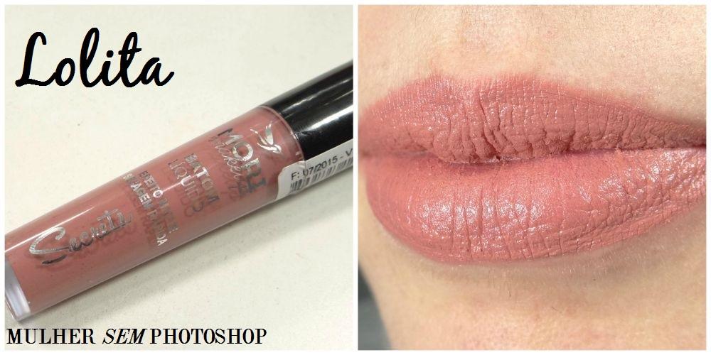 Batom Líquido Mori Makeup - Lolita