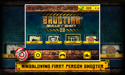 Shooting 3D - Bullet Shot