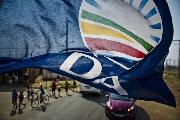 Democratic Alliance flag.