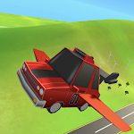 Flying Machines - Cars 3D Icon