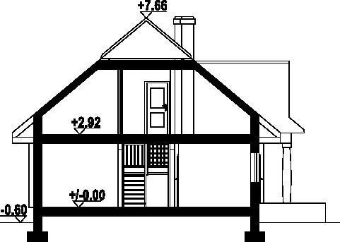 Chmielniki małe dw7k - Przekrój