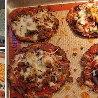 The Best Crispy Cauliflower Pizza Crust Recipe You've Ever Tasted Hot