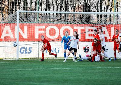 📷 De beelden van het duel van de Red Flames U15 tegen Duitsland