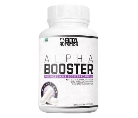 Delta Nutrition Alpha Booster - 120 caps