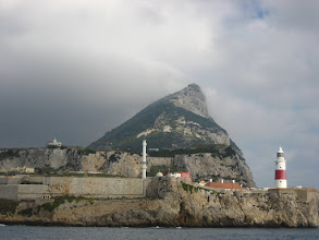 Photo: Meşhur Gibraltar Kayası. Famous Rock of Gibraltar.