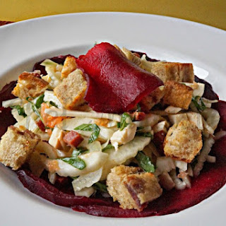 Fennel Grapefruit Salad with Beets.