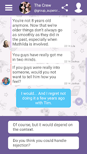 Hey Love Tim: High School Texting Story MOD (Unlimited Money) 4