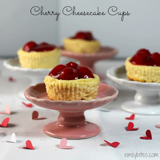 Cherry Cheesecake Cups.
