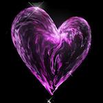 Water heart live wallpaper