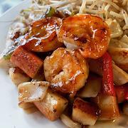 Mixed Seafood Teriyaki
