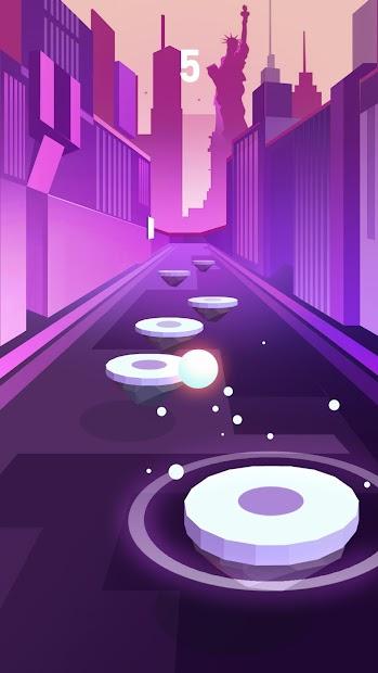 Hop Ball 3D Android App Screenshot