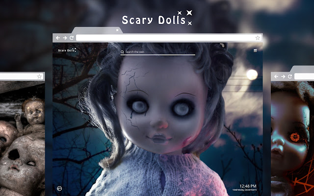 Scary Dolls HD Wallpapers New Tab