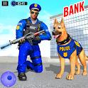 US Police Dog Crime Shooting Game: Cash Heist 2022 icon
