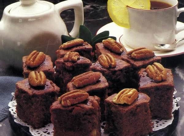 Chocolate Syrup Brownies (microwave Version)