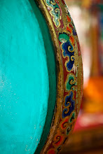 Photo: Sacred Sunday  This is a Buddhist prayer drum in the Stakna Monastery just outside of Leh in Ladakh, India. We visited the monastery right in time for the midday pudja, or prayer. Important parts of a pudja are recitation of Buddhist scriptures, chanting, horn-blowing, and drum playing. For this pudja, there were only a few visitors and the monks even served us some food.  #SacredSunday (cureated by +Charles Lupica and +Sumit Sen)