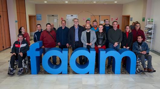 Primer equipo almeriense de Boccia para personas con gran discapacidad