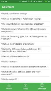 Selenium Automation testing - náhled