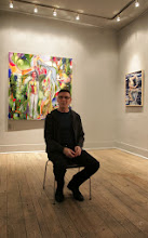 Photo: Allen Shugar, artist and Curator of Urban Gallery @ Winter Snow Ball Jan 2014