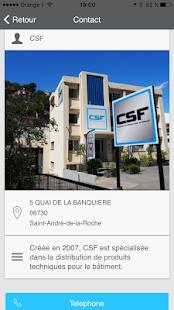 CSF - náhled
