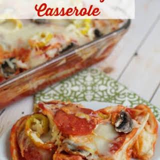 Pizza Pierogi Casserole.