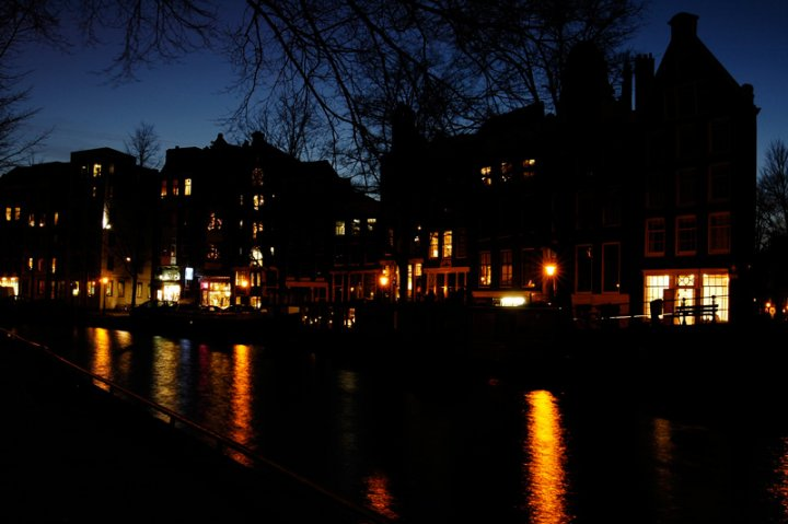Amsterdam by night di andreamazza