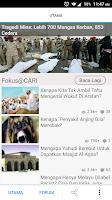 Screenshot of CARI