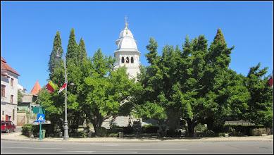 Photo: Spatiul verde din fata Catedralei Ortodoxe, Magnolii - 2017.08.02