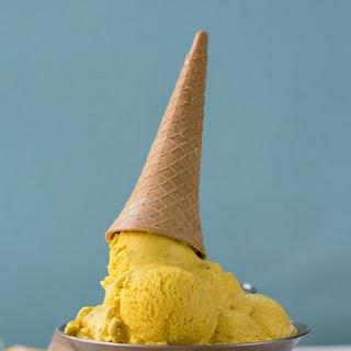 Bee Pollen Golden Milk No-churn Ice Cream.