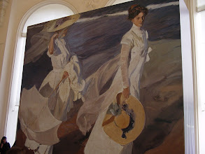 Photo: A very large John Singer Sargent painting - I think. The family art expert will need to confirm.
