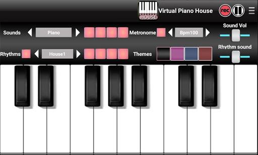 Virtual Piano Electro House
