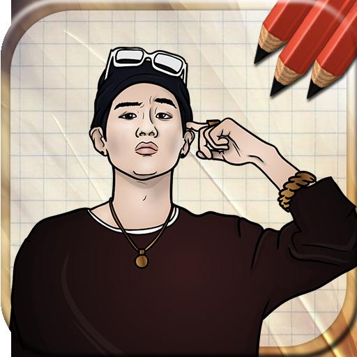 Draw Bangtan Boys BTS