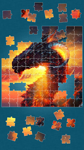 Dragon Jigsaw Puzzle Game screenshot 9
