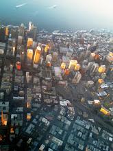 Photo: Seattle, view from Delta Flight 2193 (Mineapolis - Seattle)