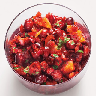 Cranberry-Orange Relish with Mint recipe | Epicurious.com.