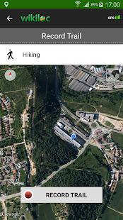 Wikiloc outdoor navigation GPS- screenshot thumbnail