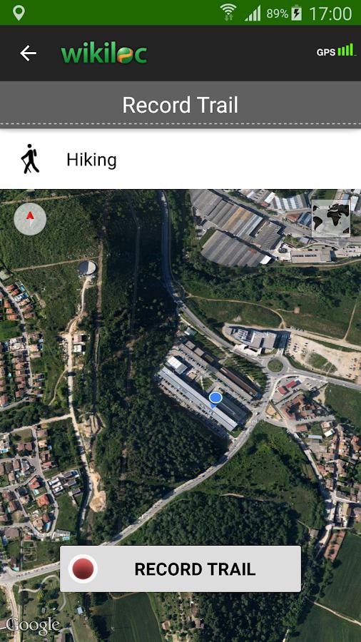 Wikiloc outdoor navigation GPS- screenshot