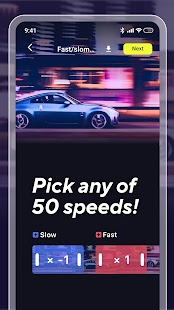 🐌Slow Mo: Slow Motion Camera & Slow Video Editor Screenshot