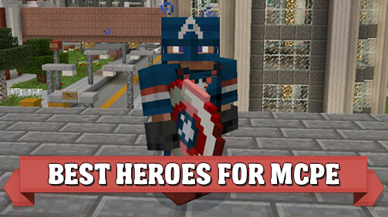 Hero mod for Minecraft PE - náhled