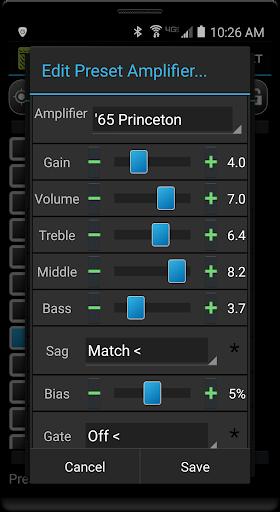 Remuda Lite - USB Guitar Amplifier Control App 1.8.4-lite screenshots 3