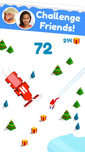 Huuuge Santa Ski screenshot 2