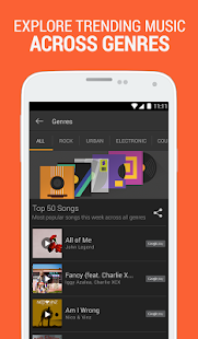 SoundHound Music Search - screenshot thumbnail