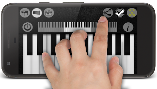 Skutečný Klavír + Klávesnice - náhled