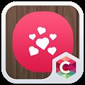 Romantic Red Heart Love Theme icon