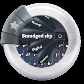 Smudged sky GO Keyboard